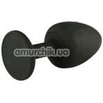 Анальная пробка Dorcel Geisha Plug, черная - Фото №1
