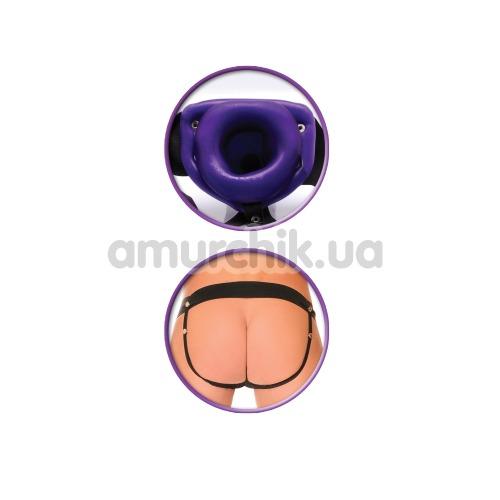 Полый страпон Beginner's Hollow Strap-On, фиолетовый