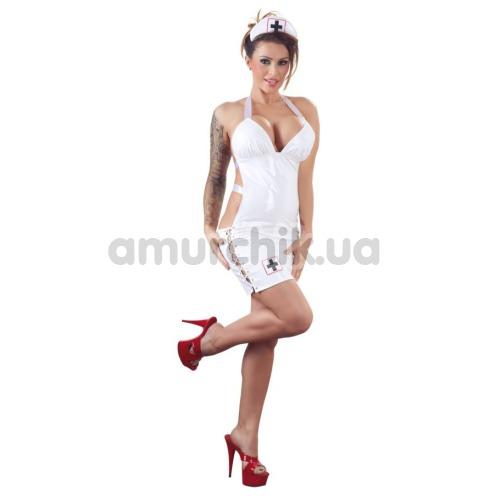 Костюм медсестры Black Level 2850656 белый: платье + шапочка