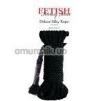 Верёвка Fetish Fantasy Series Deluxe Silky Rope, чёрная - Фото №1