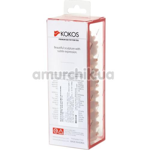 Насадка на пенис Kokos Extreme Sleeve ES.03 М 009, телесная