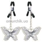 Зажимы для сосков Butterfly Nipple Clamps - Фото №1