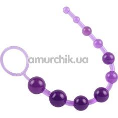 Анальная цепочка Hi Basic Sassy, фиолетовая - Фото №1