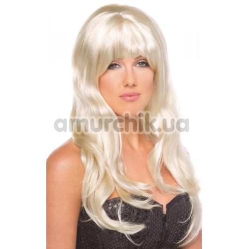 Парик Be Wicked Wigs Burlesque Wig, белый