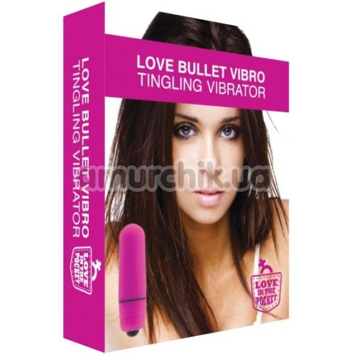 Вибропуля Love Bullet Vibro Tingling Vibrator, розовая
