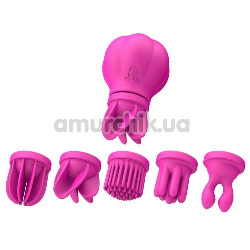 Клиторальный вибратор Adrien Lastic Caress, розовый - Фото №1