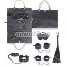 Бондажный набор Bondage Set, чёрный - Фото №1