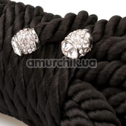 Веревка sLash Premium Silky 5м, черная