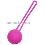Вагинальный шарик EasyToys Silicone Ben Wa Ball, розовый - Фото №1