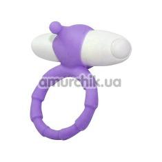 Виброкольцо Smile Loop Vibrating Ring, фиолетовое - Фото №1