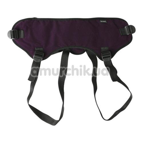 Трусики для страпона Sportsheets Lush Strap On, фиолетовые