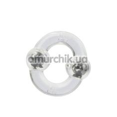 Эрекционное кольцо Magnetic Power Ring, прозрачное - Фото №1