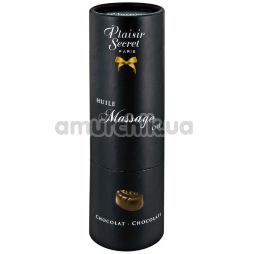 Массажное масло Plaisir Secret Paris Huile Massage Oil Chocolate - шоколад, 59 мл