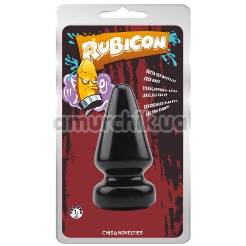 Анальная пробка Rubicon X-Large, чёрная