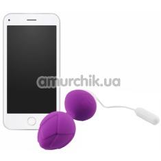 Вагинальные шарики Monsa, фиолетовые - Фото №1
