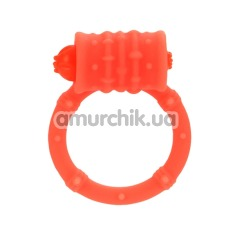 Виброкольцо Posh Silicone Vibro Ring, оранжевое - Фото №1