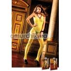Комбинезон Yellow Neckholder Bodystocking (модель B317) - Фото №1