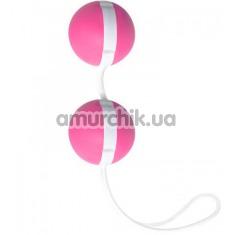 Вагинальные шарики Joyballs Trend, малиново-белые - Фото №1