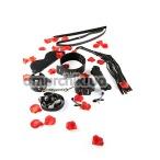 Бондажный набор BDSM Starter Kit, черный - Фото №1
