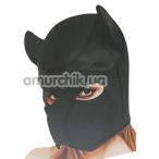 Маска собаки Multiple Colors Fetish Dog Mask, черная - Фото №1