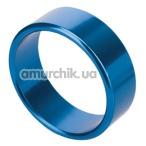 Эрекционное кольцо Rocket Rings голубое, 4.5 см