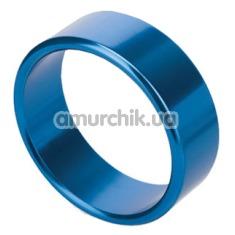 Эрекционное кольцо Rocket Rings голубое, 4.5 см - Фото №1