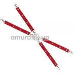 Ремешки для фиксаторов sLash Leather Fixer Large, красные - Фото №1