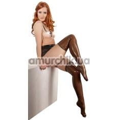 Чулки Latex Stockings 2900041, коричневые - Фото №1