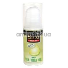 Лубрикант Sico Aqua Gel Tea Tree Oil - чайное дерево, 100 мл - Фото №1