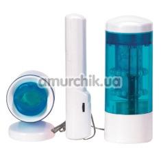 Симулятор орального секса MTX1 Robotic Mouth, голубой - Фото №1
