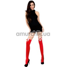 Чулки Livia Corsetti Fashion Cilla, красные - Фото №1