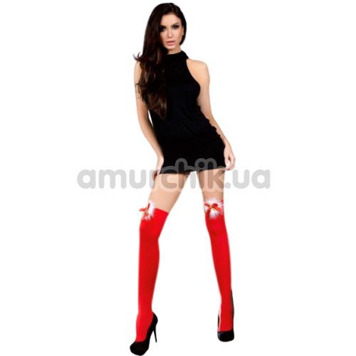 Чулки Livia Corsetti Fashion Cilla, красные