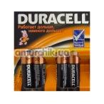 Батарейки Duracell AA, 4 шт - Фото №1