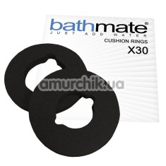 Кольцо для гидропомпы Bathmate X30 Hydromax 7 Cushion Rings, чёрное - Фото №1