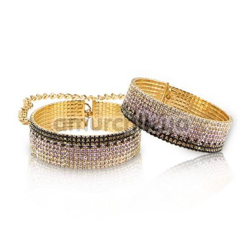 Наручники Rianne S Diamond Cuffs Liz, золотые - Фото №1
