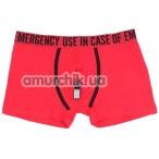 Мужские трусы Admas Emergency со свистком, красные - Фото №1