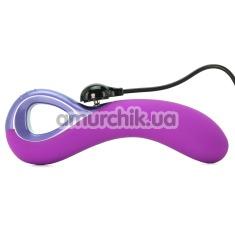 Вибратор для точки G UltraZone Arctic Wave 9X Silicone G-Spot Vibe, фиолетовый