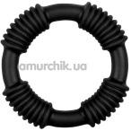 Эрекционное кольцо Cotton Pop, черное