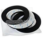 Набор колец для гидропомпы Bathmate Hercules Comfort Pad, чёрный - Фото №1