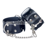 Фиксаторы для рук Fetish Boss Series Cuffs, черные - Фото №1