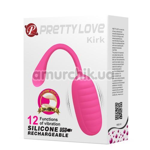 Виброяйцо Pretty Love Kirk, розовое