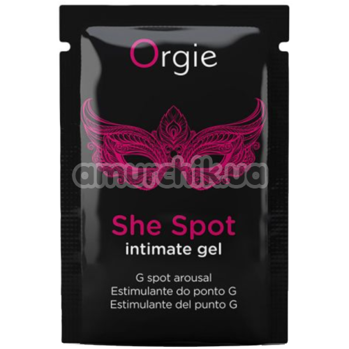 Возбуждающий гель Orgie She Spot Intimate Gel, 2 мл