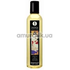 Массажное масло Shunga Erotic Massage Oil Sensation Lavender - лаванда, 250 мл - Фото №1