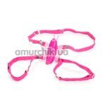 Клиторальный стимулятор Micro-Wireless Venus Butterfly, розовый - Фото №1