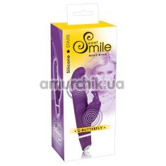 Вибратор Smile G-Butterfly, фиолетовый