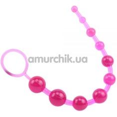 Анальная цепочка Hi Basic Sassy, розовая - Фото №1