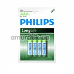 Батарейки Philips LongLife AAA, 4 шт - Фото №1