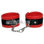 Наручники Bad Kitty Cuffs, красные - Фото №1