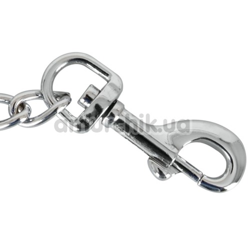 Цепочка с карабинами Zado Metal Chain, серебряная