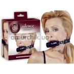Кляп Silence Mouth Gag, черный - Фото №1